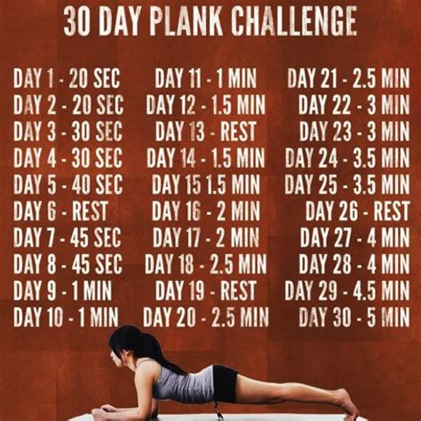 what is the 30 day plank challenge 30 day plank challenge benefits before and after results