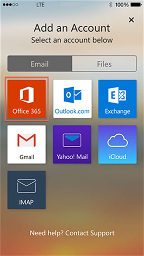 microsoft outlook (ios) | information technology services