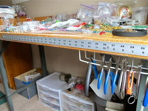 craft work bench 17 best images about bead storage room on pinterest workshop bead organization and
