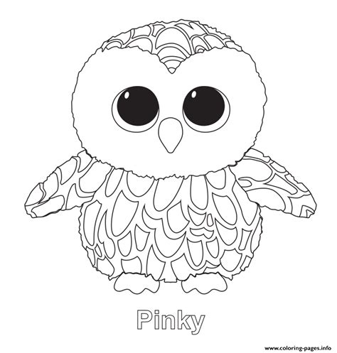 beanie boo coloring pages beanie boo coloring pages printable