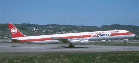 air canada cargo express dc 8 and commercial aircraft aircraft planes