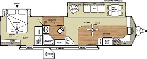 destination trailer floor plans forest river salem villa destination trailer by forest river