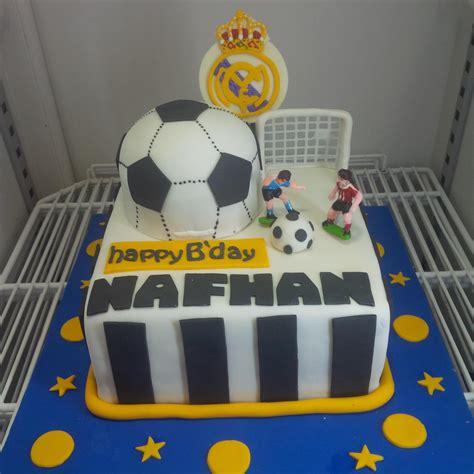 Kue Ultah Real Madrid jual kue ultah real madrid harga murah jakarta oleh khena cake