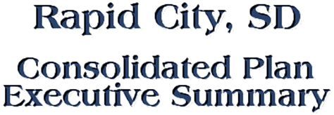 section 8 housing rapid city sd rapid city consolidated plan for 1996 executive summary