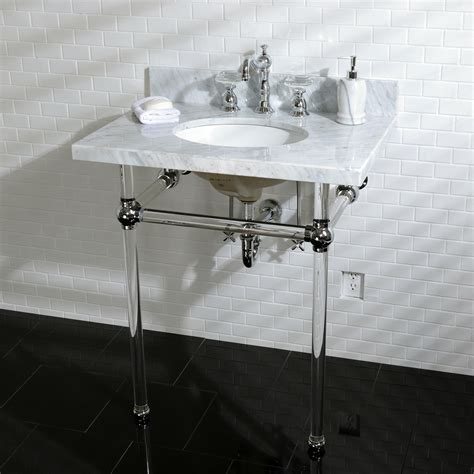 kingston brass console sink bathroom sink dreamy person console sinks for small