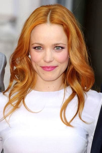 english actress with red hair red hair celebrities celebrity redheads glamour uk