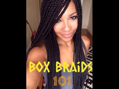 hair braiding got hispanucs box braids on natural hair youtube