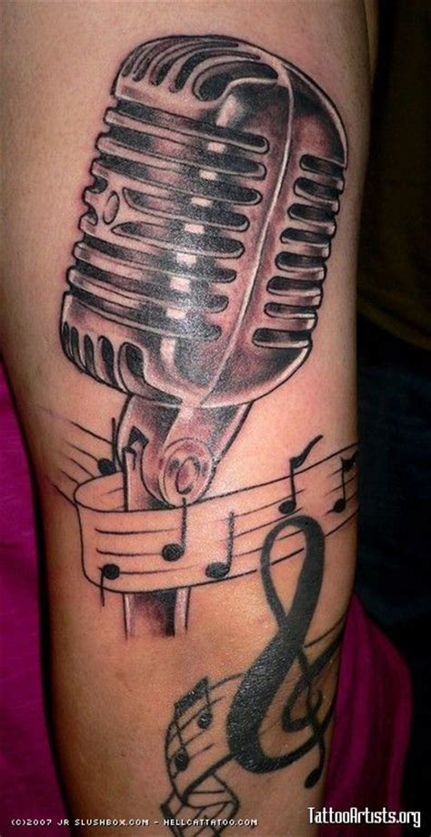 old school microphone tattoo 17 best images about tattoos on muziek
