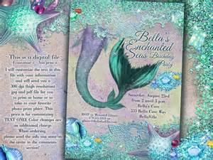 mermaid mermaid invitations mermaid mermaid pool