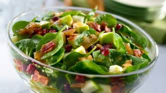Spinach salad covered in a warm bacon dressing home amp garden do it