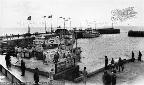 boat harbour club cinema photo of bridlington pleasure boats in the harbour c 1960