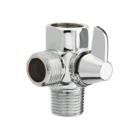 bathtub diverter valve aquaus shower diverter valve for stayflex hose rinseworks rinseworks