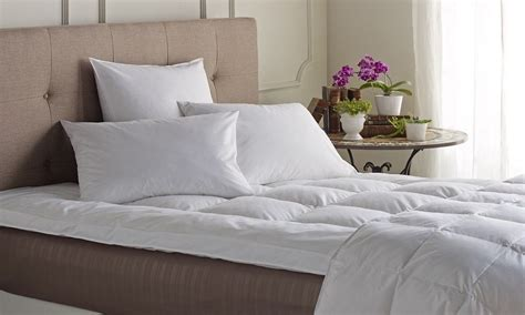 feather bed topper queen feather bed topper queen superloft mattress topper king