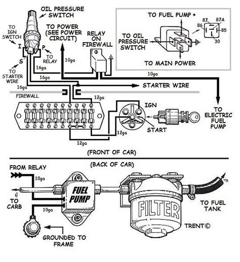 wiring fuel relay and pressure safety switch