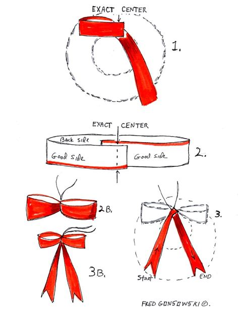 how to make an easy no tie bow for your christmas wreath
