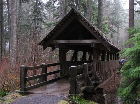 Silver Falls Cabins by Silver Falls State Park Flickr Photo