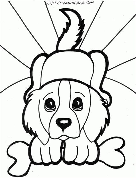 free puppy coloring pages puppy coloring pages free large images
