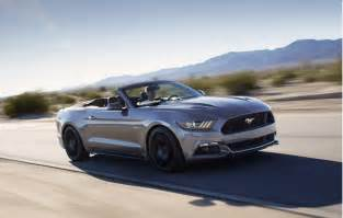 Ford Mustang 2016 2016 Ford Mustang Gets Minor Updates California Special