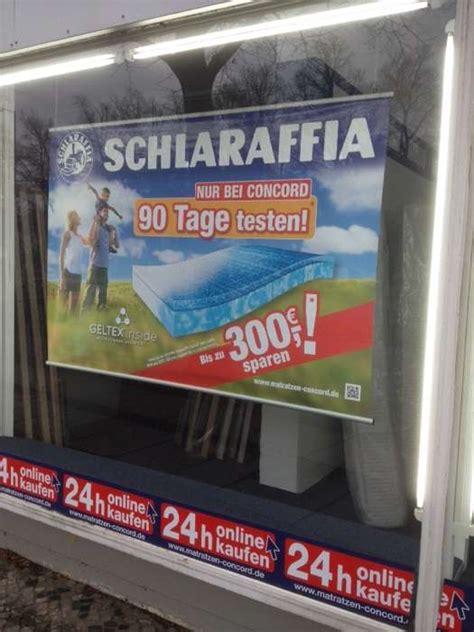 matratzen concord bewertung matratzen concord gmbh in berlin das 214 rtliche