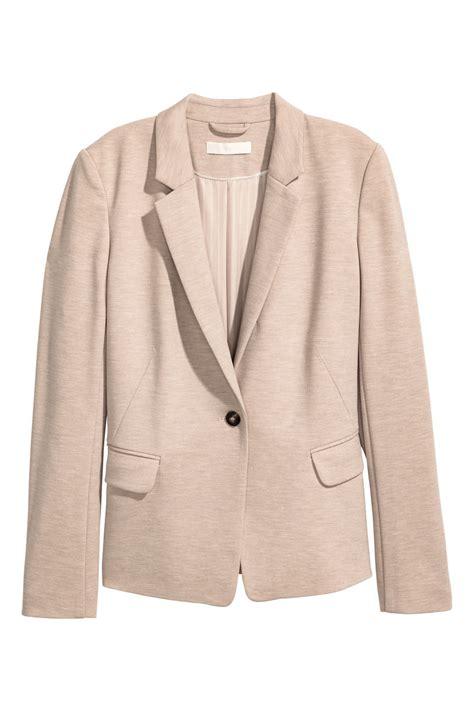 Tunik 1 Set 2 jersey jacket beige melange sale h m us