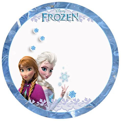 Topper Frozen by Frozen Toppers Para Imprimir Gratis Ideas Y Material