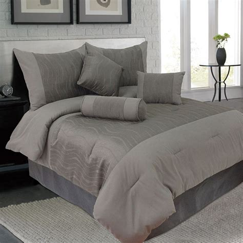 lavish home 7 piece comforter sets