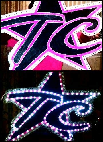 cheers light up sign light up cheer competition sign doing this for the