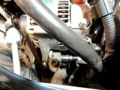 how to remove ac / alternator belt rav4, toyota 1996 1997