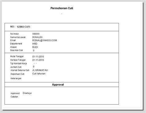format laporan tahunan hrd contoh laporan payroll payroll software absensi