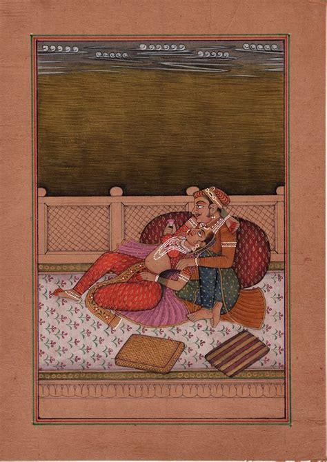Painting Handmade - mughal miniature painting moghul empire india handmade