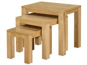 space saving dining furniture oak table nest narrow
