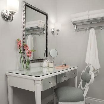 bathroom with dressing room ideas channing three drawer console table contemporary bedroom color theory boston