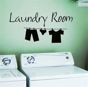 Laundry Wall Stickers Laundry Room Removable Wall Stickers Wall Decal Ebay