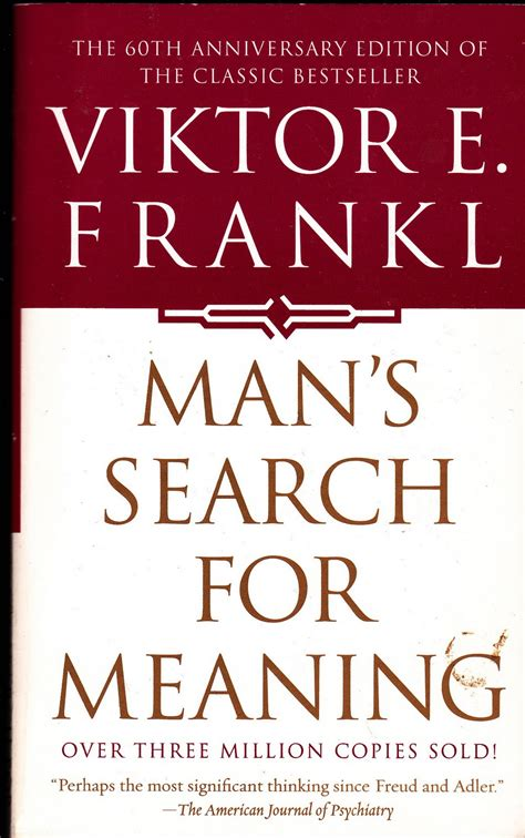 libro mans search for meaning man s search for meaning viktor frankl legi intellexi et condemnavi