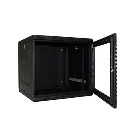 9u Comms Cabinet 9u 9ru 19 Inch Wall Mount Rack Cabinet For Networking And