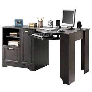 L Shaped Computer Desk With Hutch On Sale Realspace Magellan Collection Corner Desk From Office Depot