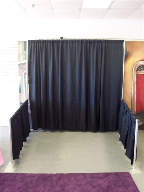 photo booth curtain dance floor rental