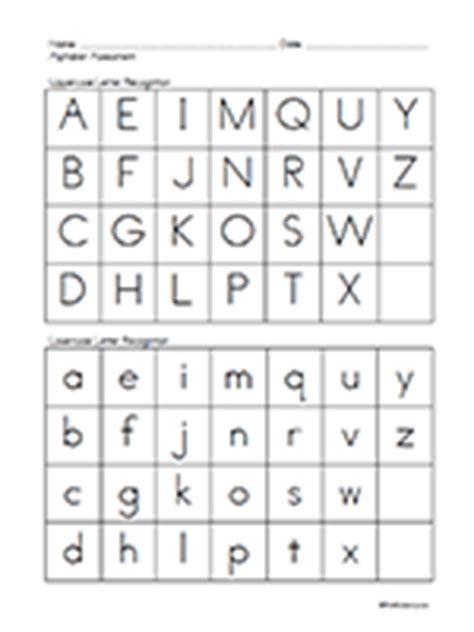 printable alphabet assessment pre k assessment forms prekinders