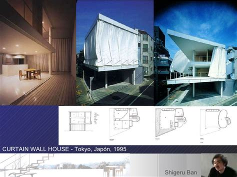 curtain wall house plan curtain wall house shigeru ban plan home design and style