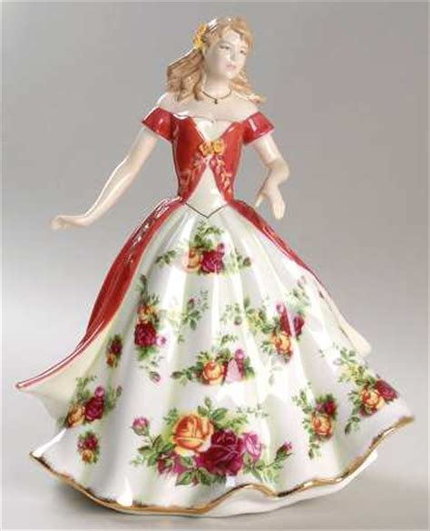 rose royal old country rose royal albert figurines of the year at replacements ltd collectables royal