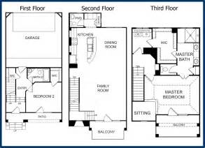3 Story Floor Plans by The Parkway Luxury Condominiums