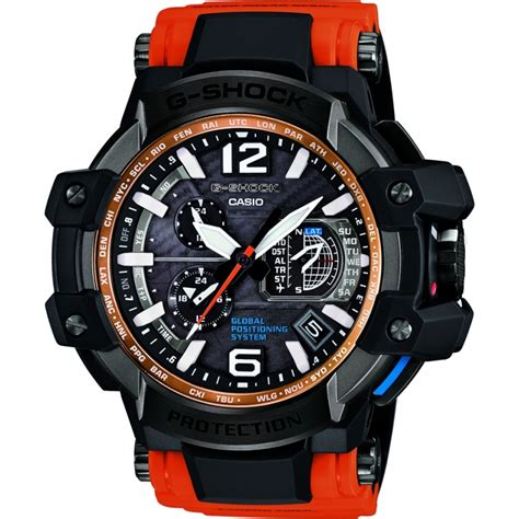 casio g shock gpw 1000 orange casio mens gpw 1000 4aer chriselli