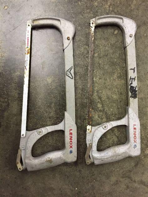 lenox hacksaw frame    tension handle ebay