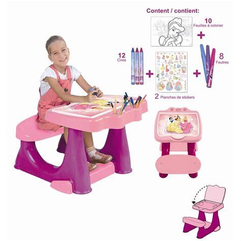 Bureau Enfant Set De Coloriage Disney Princess Achat