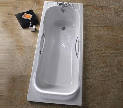 bathtub grips twyford signature 1700 x 700mm acrylic bath with grips