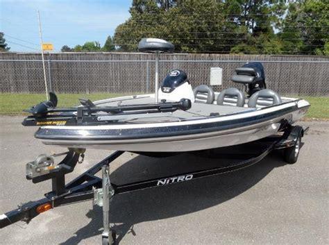 bass tracker nitro boats tracker nitro boats for sale