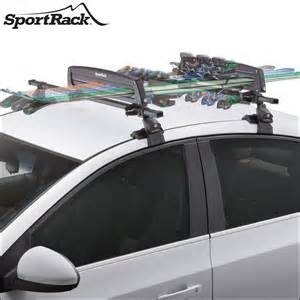 sportrack ski racks snowboard holders and ski boxes for