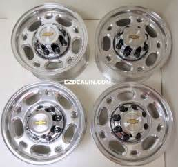 Chevy Truck Wheels 8 Lug New Chevy Silverado Express 16 Quot 8 Lug Alloy Wheels