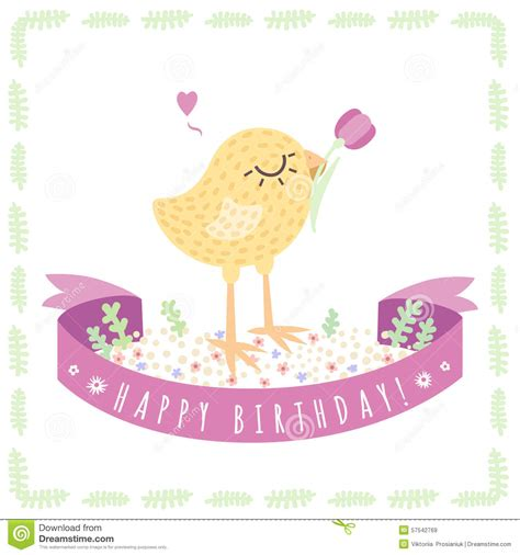 imagenes q digan feliz cumpleanos fondo y tarjeta lindos amarillos del vector del feliz