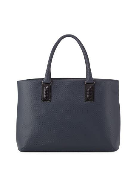 Bottega Veneta Tartan Tris Satchel by Bottega Veneta Intrecciato Trim Sted Medium Tote Bag